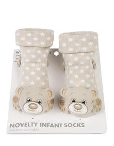 3D Teddy Novelty Socks