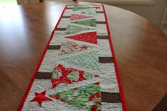 GOOD NEWS! I HAVE A FEW OF THESE TABLE RUNNERS LISTED IN MY ETSY SHOP: www.etsy.com/shop/seasaltquilts          My best friend LOVES Ch...