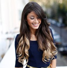 Ombre hair is fun, sexy, and fashion forward. Ombre Blonde is a beautiful combination of the Dark Brown shade at the top that slowly transitions into Dirty Blonde towards the bottom. Instantly transfo