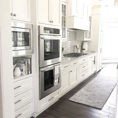Kitchen Cabinet Design - CLICK THE PICTURE for Many Kitchen Ideas. #cabinets #kitchens
