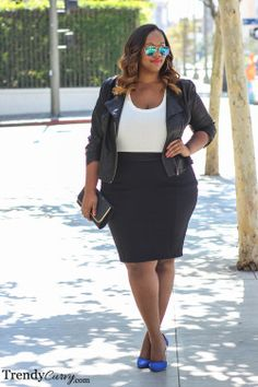 Stepping Out  Outfit details on TrendyCurvy.com... | Trendy Curvy | Plus Size Fashion & Style Blog