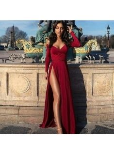 Abendkleid Rot Lang Abendkleid Rotes Abendkleid Kleider