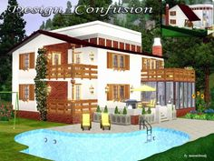 Sims 3 Finds - Design Confusion house by matomibotaki at Sims 3 Community
