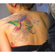 Hummingbird tattoo that I like