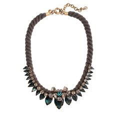 j.crew spiky rope necklace $128