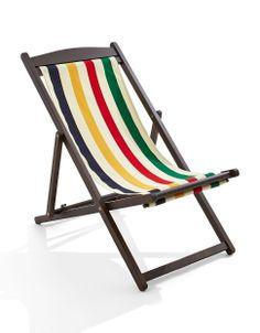 HBC Collection | Bellwoods Folding Deck Chair | Hudson's Bay #StripeSpotting