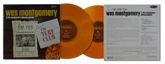 """Exclusive for Record Store Day -  Wes Montgomery & the Montgomery-Johnson Quintet: Live At The Turf Club. Limited Edition Pressing of 2,000. Special Whiskey Colored 10"""" LP. www.recordstoreday.com #jazz #WesMontgomery #resonancerecords #vinyl #RSD14"""