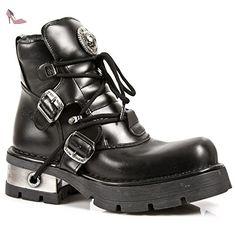 NEWROCK NR M.988 S1 Noir - Bottes New Rock - Unisexe (48) - Chaussures new rock (*Partner-Link)