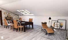 Salon styl Rustykalny - zdjęcie od Pracownia Projektowa MONO - Salon - Styl Rustykalny - Pracownia Projektowa MONO