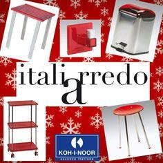 #Rosso: il #colore della #passione, che in questo periodo contraddistingue le #feste.  Tanti #accessori #bagno di #design  Koh-I-Noor Italia acquistabili online su www.italiarredo.eu http://italiarredo.eu/18-accessori  #italiarredo #ArredoBagno #red #MadeInItaly #Bathroom #Complementi #arredo #ItalianFurniture #EccellenzaItaliana #KohINoor #ShopOnLine