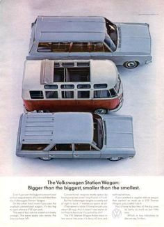 5b342de8c1 The Most Complete Vintage Ads Collection On The Web - More Than 200 Quality  Ads. Volkswagen Type 2Volkswagen ...