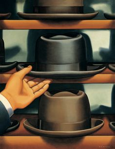 Kenton Nelson, On Selecting a Hat
