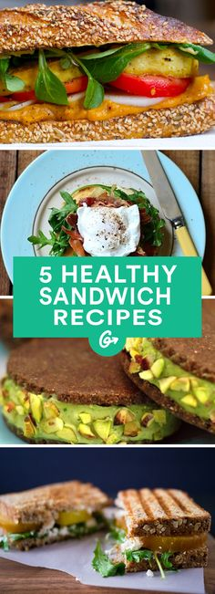 Nobody really needs a recipe to slap some meat or cheese between two slices of bread. But for a... #Healthy #Sandwich #Recipes http://greatist.com/health/best-healthy-sandwich-recipes-040813