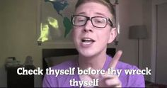 I agree with you Tyler Oakley
