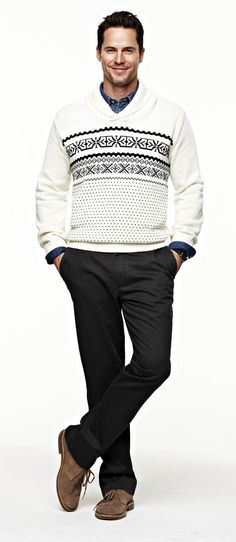 @Dockers Man sweater and pants