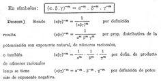 Significado de elevar un número natural a una potencia de exponente negativo. - Buscar con Google