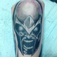 Magneto tattoo
