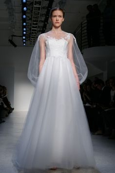 #long-sleeved #wedding #gown by Christos