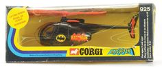 Corgi Batman Batcopter.