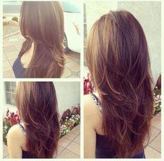Choppy Layered Haircuts for Long Hair