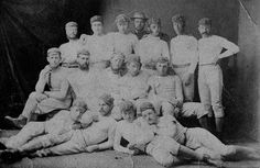 The 1873 Nelson (New Zealand) rugby club.