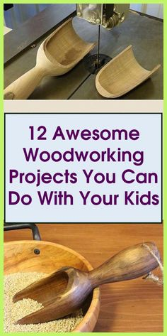 Discover newbie woodworking projects that make outstanding homemade gifts either for yourself or a loved one and are ideal for novices. #kidsprojects ...