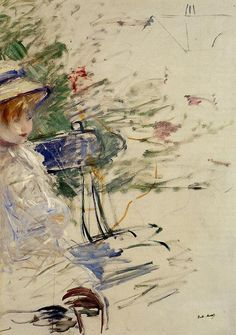 Berthe Morisot - Little Girl in the Garden
