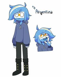 Argentina Country, C Anime, Anime Music Videos, Mundo Comic, Human Art, Country Art, Cute Anime Guys, Art Reference Poses, Character Design Inspiration