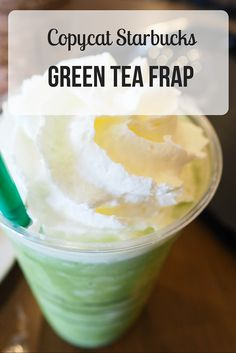 This Starbucks matcha frappuccino is the perfect way to recharge at the begging, middle, or end of your day. Unwind with this healthy matcha drink.  http://epicmatcha.com/green-tea-frappuccino/?utm_source=pinterest&utm_medium=pin&utm_campaign=social-organic&utm_term=pinterest-followers&utm_content=blog-starbucks-copycat-green-tea-frappuccino-video-round-2