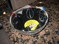 How to Make Bowls out of Vinyl Records -- via wikiHow.com