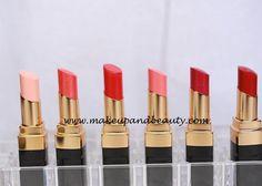 #Chanel #Rouge #CocoShine #Lipsticks #candeur #68 #sarideau #44 #rebelle #63 #flirt #suspense #80 #dialogue #84