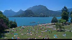 Talloires - Lac Annecy - Webcam 16 juillet 2016