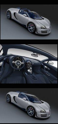 "Bugatti unveiled a one-off Veyron Grand Sport Vitesse ""Gris Rafale"" for $2.5 million"