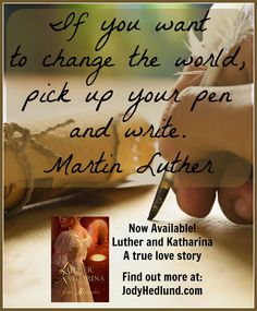 Luther and Katharina by @jodyhedlund releases today!