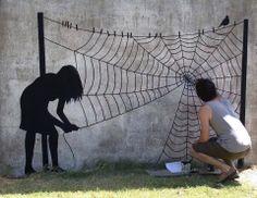 El creativo arte callejero de Pejac                                                                                                                                                                                 Más