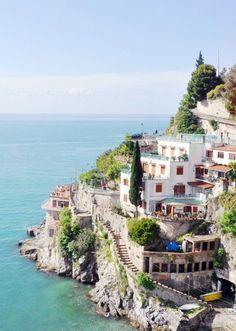 """Amalfi, Italia ❤ #italy #wanderlust   via Mary """"Amalfi Coast, Italy via Lark & Linen   #wanderlust """""""
