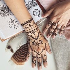 Love Henna Tattoos