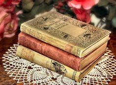 Shabby Historical Antique Fiction Hardbound by PattysPastTimes, $15.95