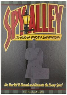 10 Great Games for Gifted Children: Spy Alley Board Game