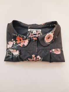 Phoebe blouse in Spoonflower fabric | Anna McClurg: Phoebe blouse in Spoonflower fabric