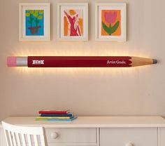 I love the Backlit Pencil Light on potterybarnkids.com