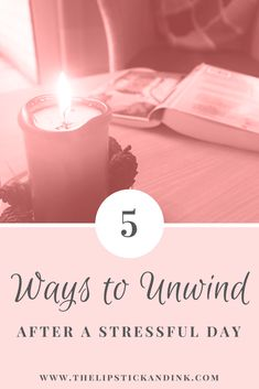 We all have stressful days. Looking for ways to unwind? Kelly at Lipstick & Ink brings some ideas to the table on the blog. Click to read on!