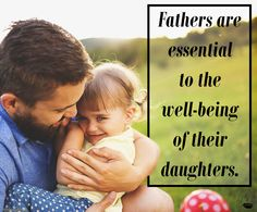 Fatherlessness is one of the most important social issues of our time. Today, fathers are portrayed in popular entertainment as pseudo-morons, if they are shown at all. Yet fathers are essential to the well-being of their daughters. Research is clear that the lack of a father, especially in a girl's life, increases her likelihood of earlier sexual activity, higher rates in teen pregnancy, devastatingly higher rates in child abuse, and significantly higher rates of abortion.