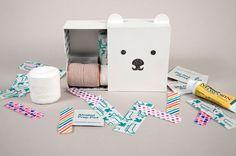 Kit para niños de primeros auxilios