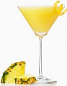 Pineapple martini (and recipe)
