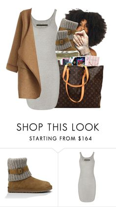 """#63: I'm tired of school😑"" by chilly-gvbx on Polyvore featuring UGG, SEN, Enza Costa and WithChic"