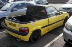 Citroen Saxo pickup #carmods #modauto #modbargains #showcar #cars #carenthusiast #Automotive