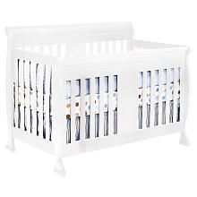 DaVinci Porter 4-in-1 Crib with Toddler Rail - White