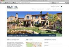 SM Sold developed a brand new website for Rachel Swardstrom, an expert in Irvine area real estate. A fresh color palette and clean layout set the state for Rachel's properties, MLS Property Search, Sold Gallery, as well as About and Contact Us pages.