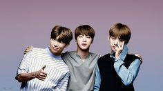 RM, Jin & Tae /// BTS ///  beauts (♡●♡) xx